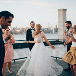 Hochzeit Rooftop New York