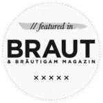 Featured on Brautmagazin